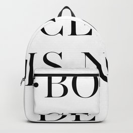 BOTTICELLI IS NOT DEAD Backpack
