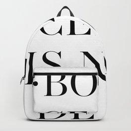BOTTICELLI IS NOT DEAD Backpack