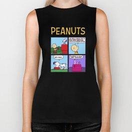 The Peanuts snoopy Biker Tank