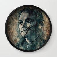 crowley Wall Clocks featuring Crowley by Sirenphotos