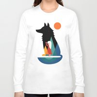 best friend Long Sleeve T-shirts featuring Best Friend by Andy Westface