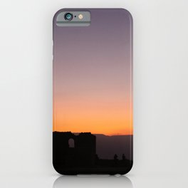 Masada Sunrise iPhone Case
