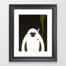 PERFECT SCENT - BIGFOOT 雪人 . EP001 Framed Art Print