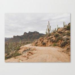 Classic Desert Drive Canvas Print