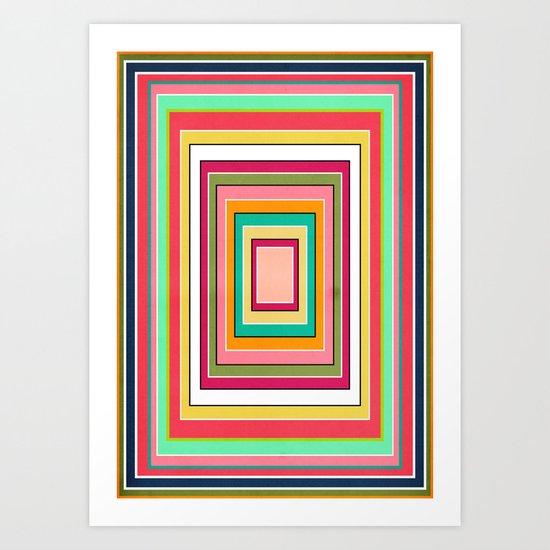 Floor Pattern Art Print