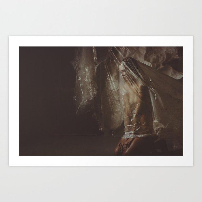 Suffocate-3 Art Print