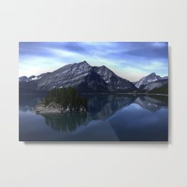 Upper Kananaskis Lake Metal Print