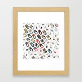iPattern_no2 Framed Art Print
