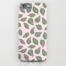 Fittonia Leaves Slim Case iPhone 6s