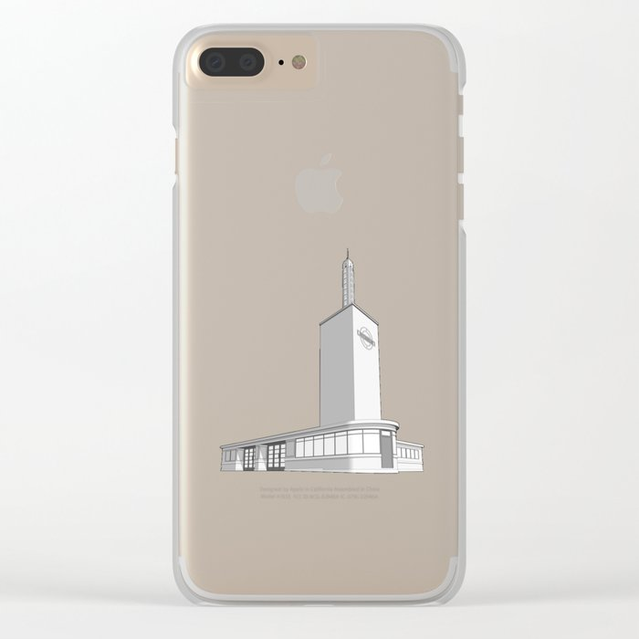 Osterley station Clear iPhone Case