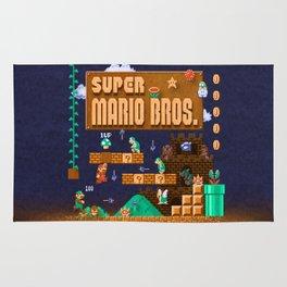 Mario Super Bros Rug