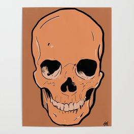 Autumn Skull Poster