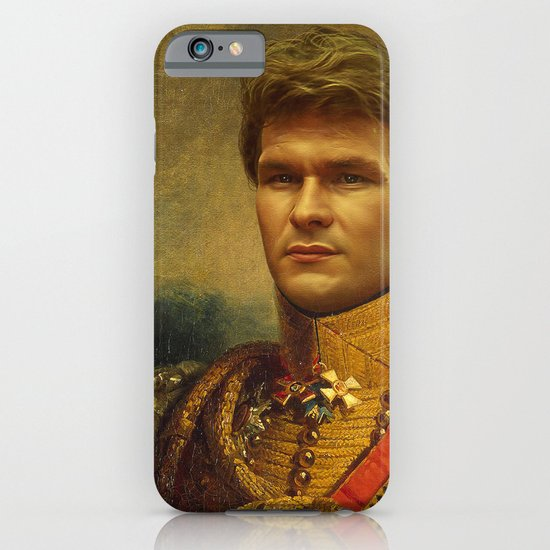 Patrick Swayze - replaceface iPhone & iPod Case
