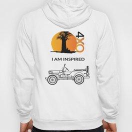 I AM INSPIRED JEEP CJ Hoody