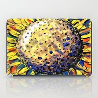 sunflower iPad Cases featuring Sunflower by Claudia McBain
