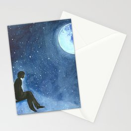 Serendipitous Skies Stationery Cards