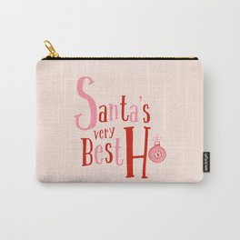 Santa's Very Best Carry-All Pouch