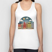stockholm Tank Tops featuring Stockholm by HOONISME