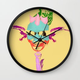Lily James Wall Clock