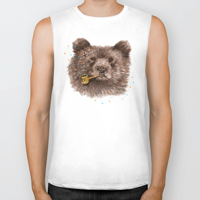 Sailor Bear II Biker Tank