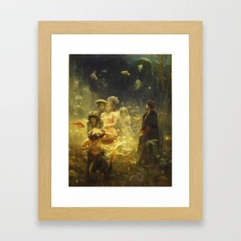 Ilya Repin - Sadko Framed Art Print