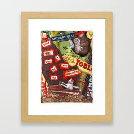 Fire! Framed Art Print