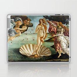 Iconic Sandro Botticelli The Birth of Venus Laptop & iPad Skin