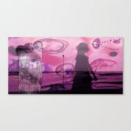 P I N K Canvas Print