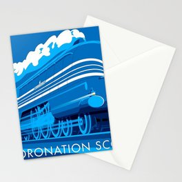 Coronation Scot Stationery Cards