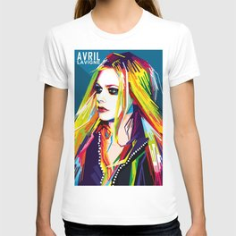 WPAP Avril Lavigne T-shirt