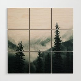 Over the Mountains and trough the Woods -  Forest Nature Photography Wood Wall Art