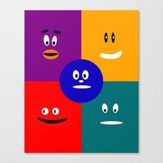 Faces of JobiJu Canvas Print