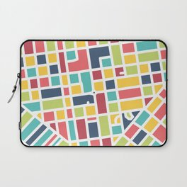 Lancaster, PA Block Map Laptop Sleeve