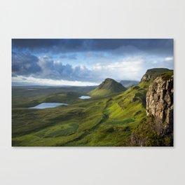 The Trotternish Ridge Canvas Print