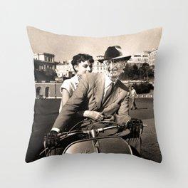 FREDDIE KRUEGER IN ROMAN HOLIDAY Throw Pillow
