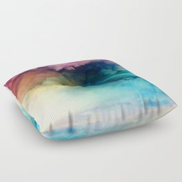 Rainbow Dreams Floor Pillow