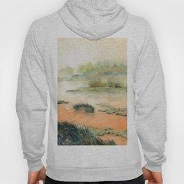 Egret On The Marsh Hoody