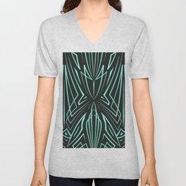 Pinstripe Pattern Creation 30 Unisex V-Neck