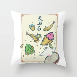Climbing | Taste of Climbing Holds Tempura Throw Pillow