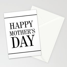 """ Mother's Day "" - Happy Mother's Day Stationery Cards"