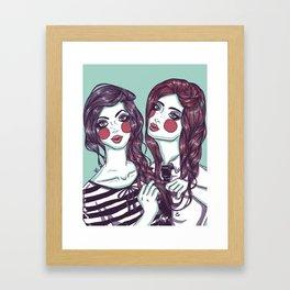 75 Degrees Framed Art Print