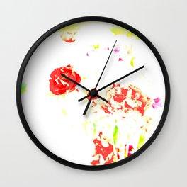 Flower's fantasy  Wall Clock