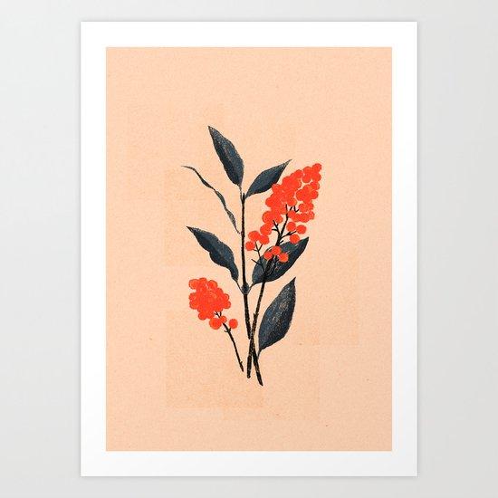 Kalemba Flower I Art Print
