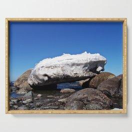 Iceberg on the Rocks Serving Tray