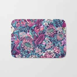 Stand Out! (electric blue) Bath Mat