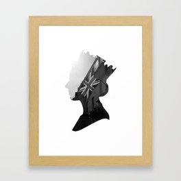queen of jacks Framed Art Print