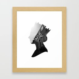 queen of jacks Framed Art Print