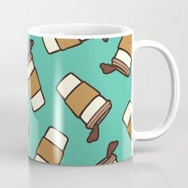 Take it Away Coffee Pattern Coffee Mug