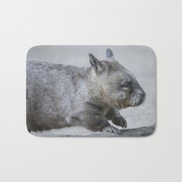 Australian Wombat Bath Mat