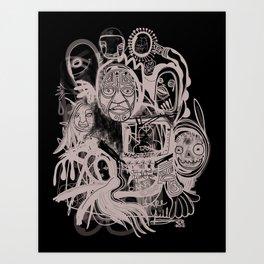 """Fake Pill"" Art Print"